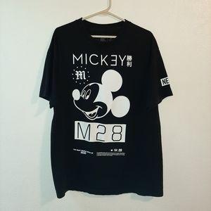 Black Neff Disney Mickey Mouse Tshirt Size Large